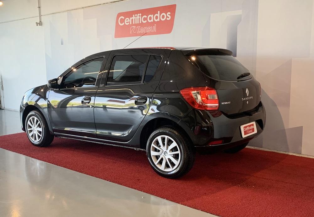 Comprar seminovo Renault SANDERO Expression Hi-Power 1.6 8V 5p no Certificados Zensul